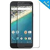 EasyULT [2 Pack] Google Nexus 5X Protector de Pantalla,Protector de Pantalla de Vidrio Templado para Google Nexus 5X(Transparente,Dureza de Grado 9H, Espesor 0,26 mm, 2.5D Round Edge)