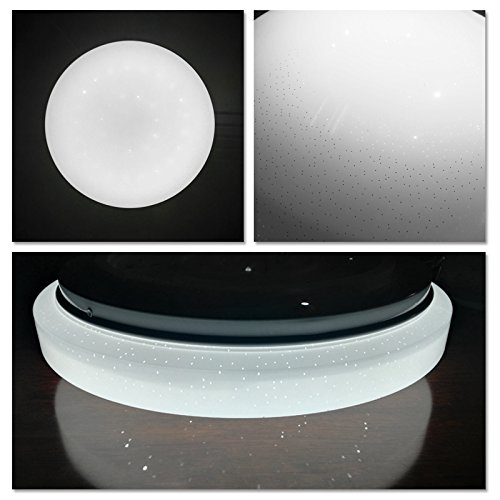 VINGO 16W LED Ceiling Lights Round Ceiling Lamp Starlight Effect Beautiful Room
