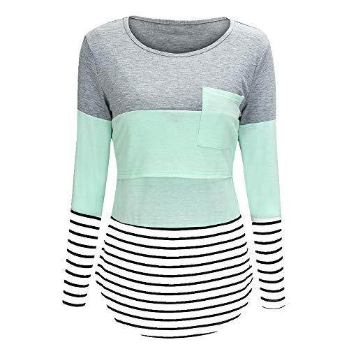 Camiseta de manga larga para mujer de primavera y verano