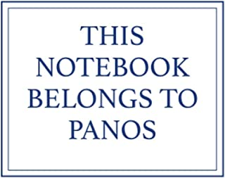 This Notebook Belongs to Panos