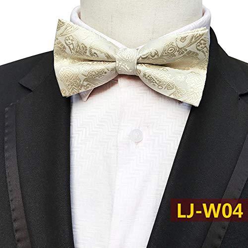 VWCDO Jacquard Bloemenboog Tie Cashew Bloemen Koninklijke Blauwe Vlinder Cravats Mannen Vrouwen Bruidegom Bruiloft Commerciële Pak