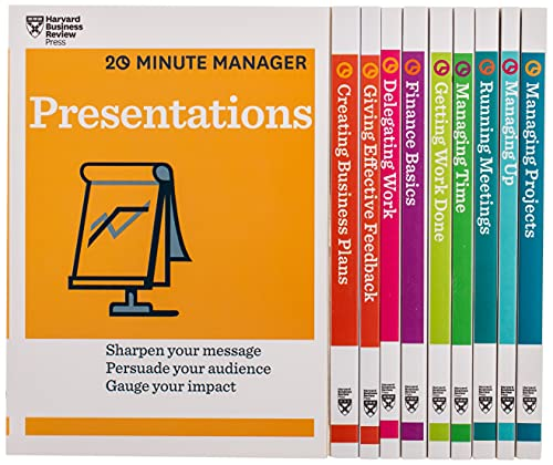 HBR 20-Minute Manager Boxed Set ...