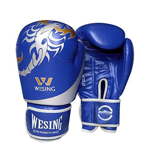 Guanti da Pugilato Wesing per guantoni da Combattimento Muay Thai Guanti da Allenamento Kickboxing