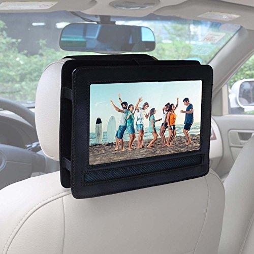"""Soporte de reposacabezas de coche para APEMAN 9.5"""" HD Reproductor de DVD Portátil Reproductor con Pantalla Giratoria"""