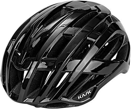 Kask Valegro - Casco para Bicicleta de Carretera, Unisex, Unisex Adulto, Color Negro, tamaño M - 48/58cm