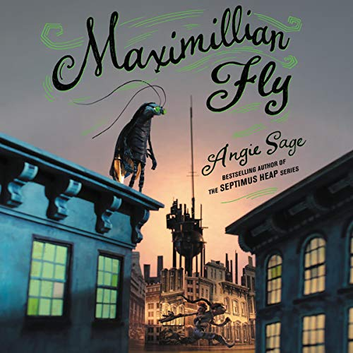Maximillian Fly audiobook cover art