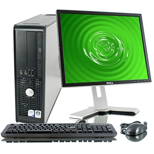 Dell OptiPlex Desktop Complete Computer Package with Windows 10 Home - Keyboard