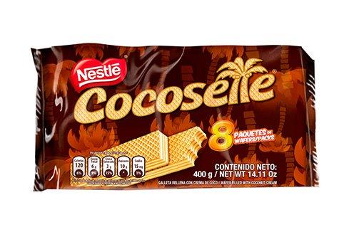 COCOSETTE 8 und de 50 gr c/u Galleta Rellena Con Crema De Coco / COCOSETTE 8 units 1.76 Oz each Cookie Filled with Coconut Cream