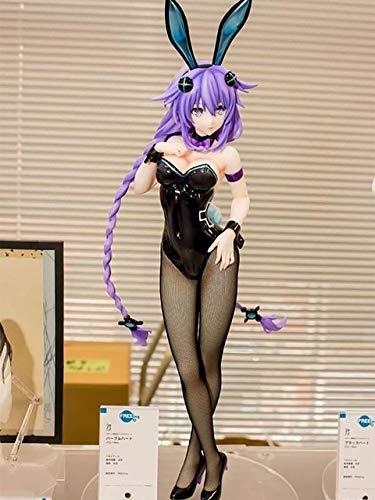 Anime Sexy Figuren Hyperdimension Neptunia FREI Purple Heart Bunny Mädchen PVC Action Figure Sammeln Modell Spielzeug, LILA MIT Box