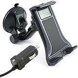 Support de voiture scozzi - 360 ° + câble de charge USB C - Pour Huawei P20, P10, P9, Mate, 20, 10, 9, nova 3, 2s, 2 Honor, 10,...