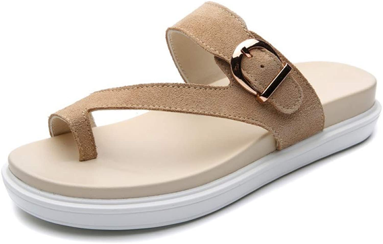T-JULY Women Beach Flip Flops Sandals Woman Ladies Flats shoes Slippers Summer