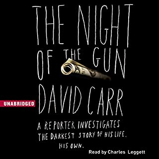 The Night of the Gun audiobook cover art