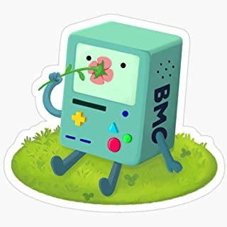 WillettaStore Flowers for BMO Stickers (3 Pcs/Pack)