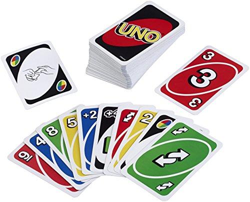 Mattel W2087 – Uno, Kartenspiel - 4