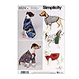 Simply Creative Group Simplicity 8824 Dog Coats in Three Sizes A (Sizes S-M-L) Multi