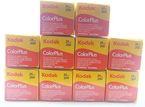 10carretes Kodak Color Plus, 35mm 200/24, lote de 10unidades. Película, carrete, fotografía