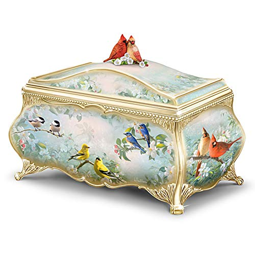 The Bradford Exchange Joe Hautman Songbird Artwork Porcelain...