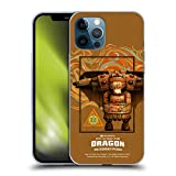 Head Case Designs Officially Licensed How to Train Your Dragon Fishlegs III Riders Soft Gel Case Compatible with Apple iPhone 12 Pro Max