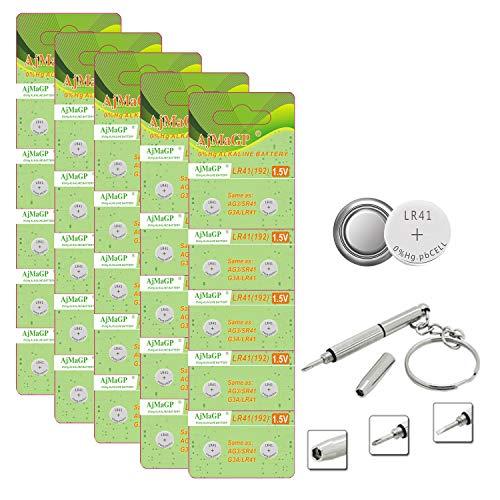 LR41 AG3 392 1.5V Alkaline Button Cell Battery for...