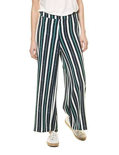 OEUVRE FASHION Women's Trouser-Twin Stripped Pants