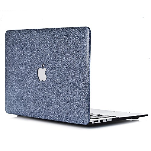 L2W MacBook Pro 15 Retina Hulle MacBook Pro 154 Zoll Retina Sparkly Serie Hartschale Tasche Schutzhulle Case fur Apple MacBook Pro 154 with Retina Display ModelA1398 Dunkelgrau