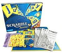 (リトルスワロー) LtSw Scrabble スクラブル 英語 単語 クロスワード パズル アルファベット ボード カード ゲーム 子供向け 大人向け 知育玩具 英語教材 脳トレ (子供用)