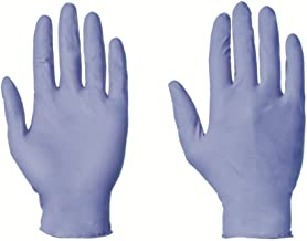 100 x Nitrile Disposable Gloves, LARGE Non-Powdered Blue (free P&P on all products)