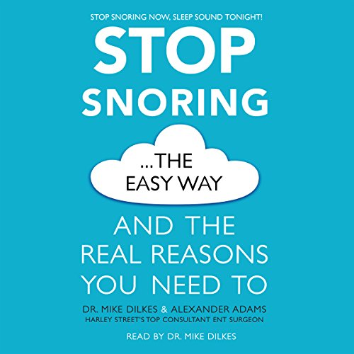 Stop Snoring the Easy Way audiobook cover art