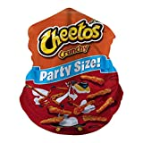 Chee-Tos Crunchy Party Size Anti-Dust Mask Half Face Neckchief Multifunctional Sun Protection Headbands Windproof Outdoors
