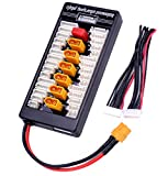 FPVDrone XT60 Parallel Charge Board 2-6S Lipo Battery Balanced Charging Board with XT60 Connector