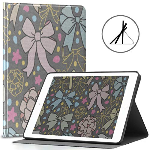 Funda para iPad 9.7 Pulgadas Pink Girl Love Heart Fit en Forma de Arco 2018/2017 iPad 5ta / 6ta generación Funda para iPad 9.7 También se Ajusta a iPad Air 2 / iPad Air Auto Wake/Sleep