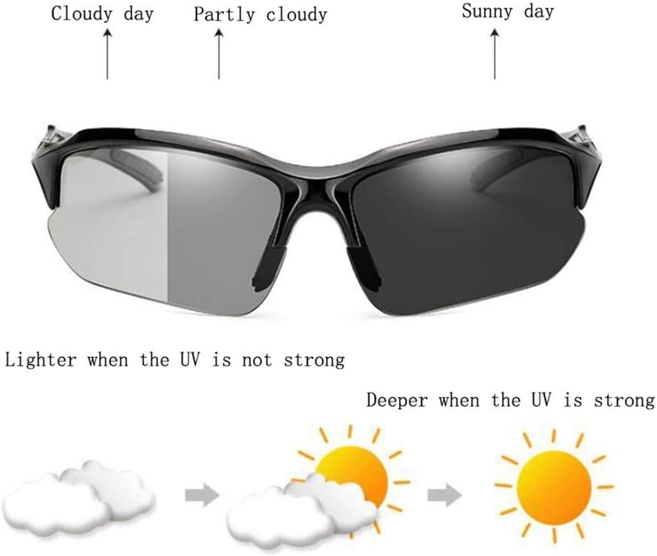 Bicycle Sunglasses Polycarbonate UV400 Polarized MTB Sport Fishing Eyewear Glass