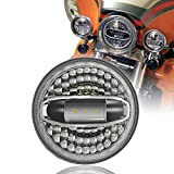 SUNPIE 7 inch LED Headlight with Halo White for H arley...