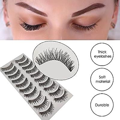 Amazon - Save 80%: Eyelashes 50 Pairs 5 Mixed Styles False Eyelashes Natural Look Wispies Eye…