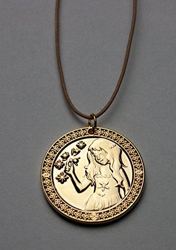Zahnfee Münze Milchzahn- Gold beschichtet