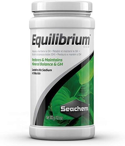 Seachem RS Electricals Equilibrium Aquarium Water Conditioner, 300 g