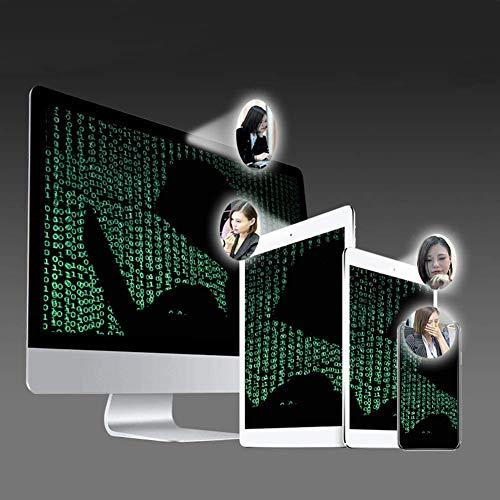 lululeague Webcam Abdeckung, Cover Kamera Laptop, 0.027 Ultra dünne Web Kamera Abdeckung für Computer Laptop, MacBook Pro, Smartphone, PC, Handyzubehör -Schutz Ihrer Privatsphäre Online (8 Stück)