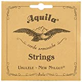 Aquila New Nylgut AQ-5 Soprano Ukulele Strings - Low G - Set of
