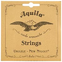Aquila新しいナイルガットaq-17Tenor Ukulele Strings–1セットof 6