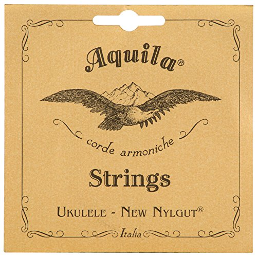 Aquila New Nylgut–Cuerdas para ukelele tenor aq-15herida bajo G–Set de 4cuerdas