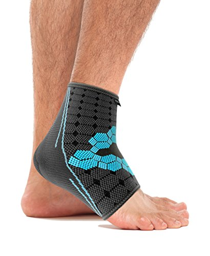 bonmedico Ekto Flexible Fußgelenk-Bandage zur Stabilisierung des Fußes, L