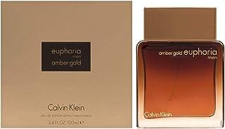 Calvin Klein Perfume - Calvin Klein Euphoria - perfume for men Amber Gold For - perfume for men 100ml - Eau de Parfum