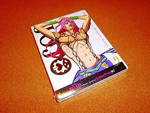 BD 【ジョジョの奇妙な冒険 黄金の風(第5部後半)】21-39話BOX!北米版ブルーレイ