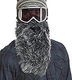 Beardski Great Wolf Ski Mask, Black, One Size