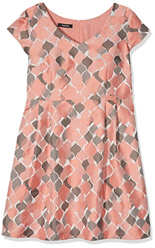 TAIFUN by Gerry Weber Damen Sweet 780033-11053 Kleid, Mehrfarbig (Flamingo Gemustert 3000), 42