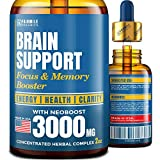 Brain Supplement for Memory, Focus, Energy & Clarity - Natural Nootropic with...