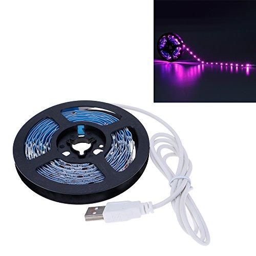 VANKER Flexible 3528SMD USB 5V LED Chambre Boutique Laptop TV Rétroéclairage Bande de Lumière 3M Rose