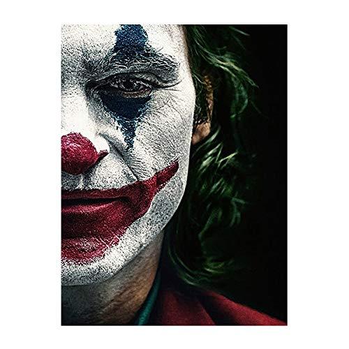 Birnen Kunstwerk für die Wand Landschaft Movie Joker Joker Origine Film SHome Wohnzimmer Büro Weiß Weihnachten Silvester Dekoration Valentinstag Dekoration Geschenk 40 x 50 cm DIY Malen nach Zahlen