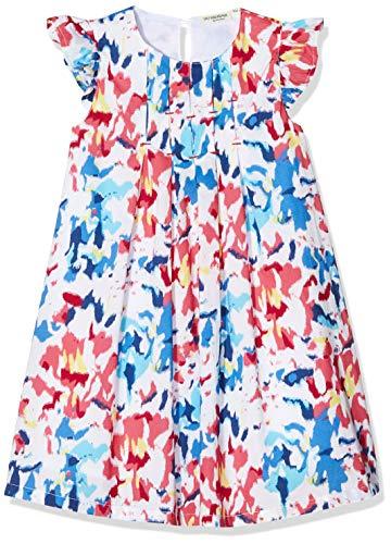 Salt & Pepper Mädchen 03133292 Kleid, Mehrfarbig (Original 099), (Herstellergröße: 128)