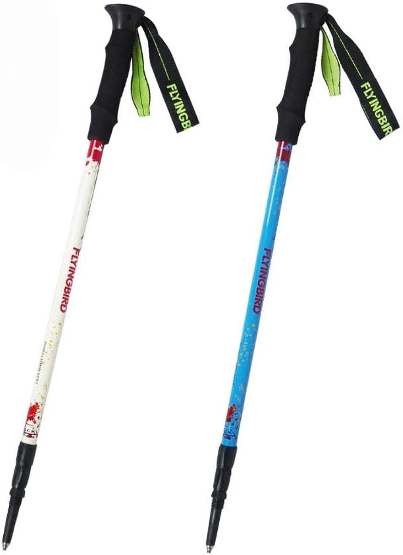 AODEW 1PC 2PCS Trekking Poles Hiking Poles Sticks Ultralight Walking Hiking Sticks Adjustable Trail Poles